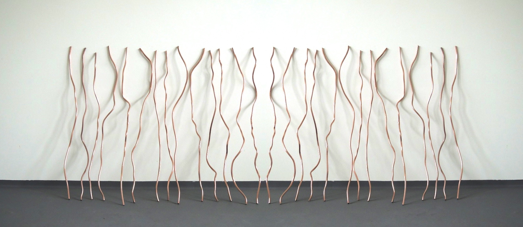 Untitled (copper tubes) - 2013