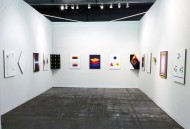 Installation view of the booth - Adam Henry