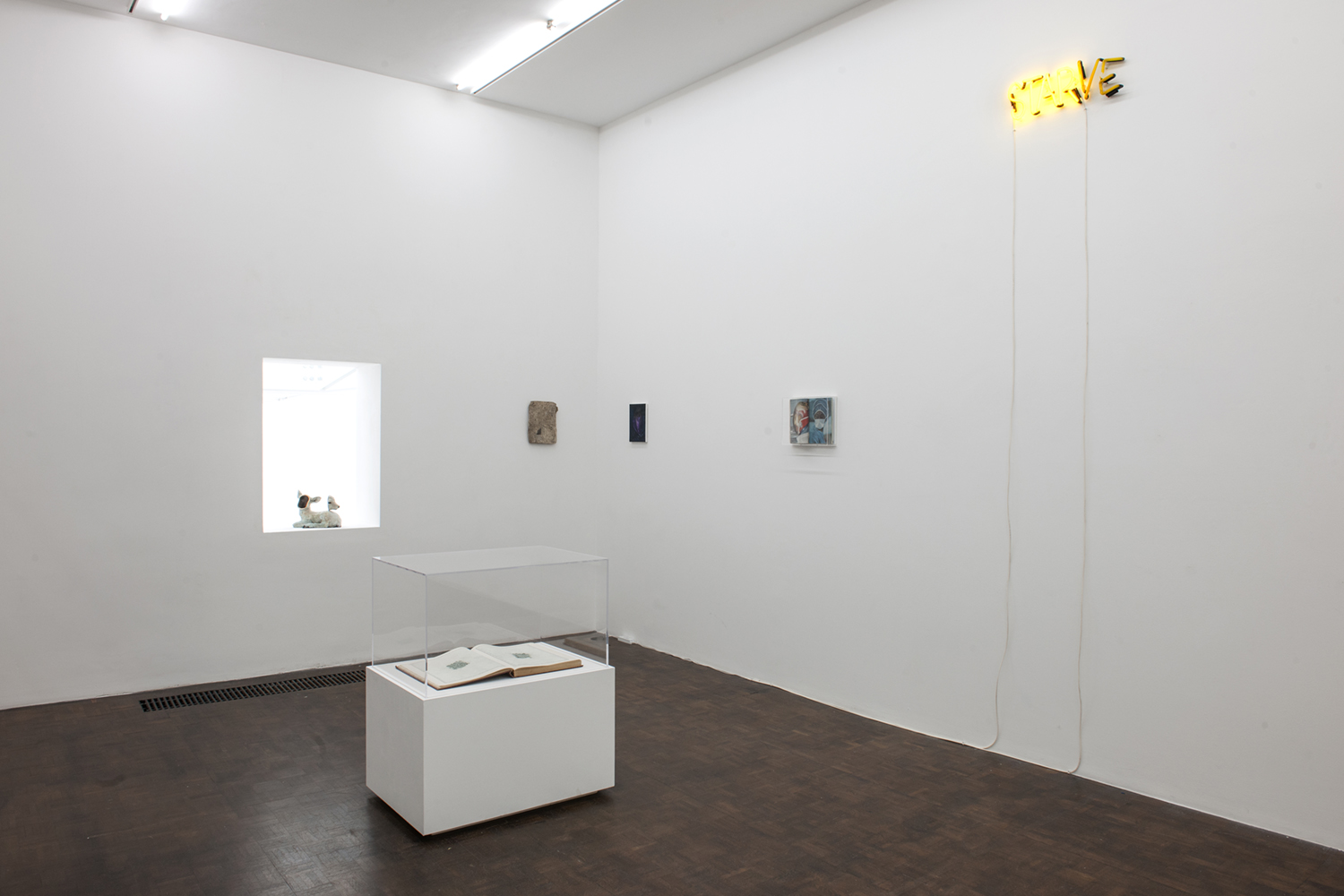 MUCH WITHOUT MANY, exhibition view, Meessen De Clercq, Brussels  -