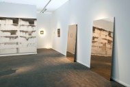 Installation view of the booth -